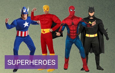 Disfraces Superheroes