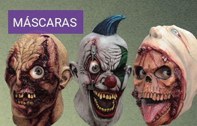 Máscaras disfraces